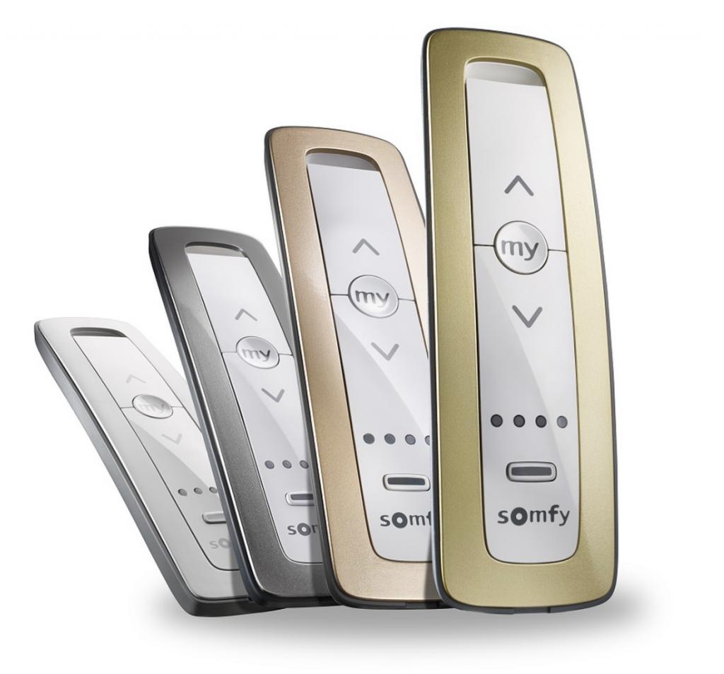 Somfy motor remote control