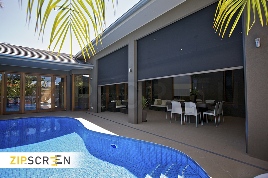 Zipscreen Shade Solution - Sheerview Gold Coast